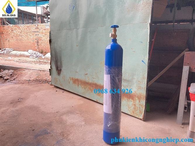 bình khí Argon 14 lít chuyên đi công trình
