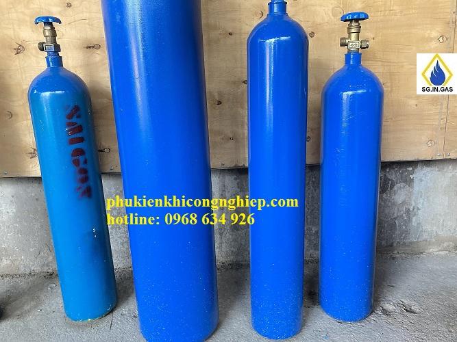 bình khí nito 10 lít