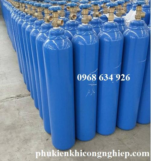 Bình khí Argon 10 lít cho thợ cơ khí